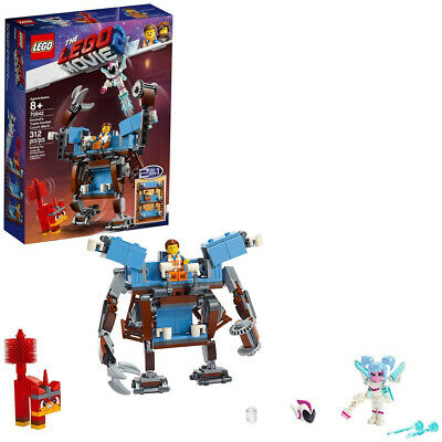 THE LEGO MOVIE 2 Emmets Triple-Decker Couch Mech 70842 Kid Toy Gift