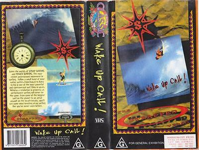 Surfing Wake Up Call   Vhs Video Pal~ A Rare Find