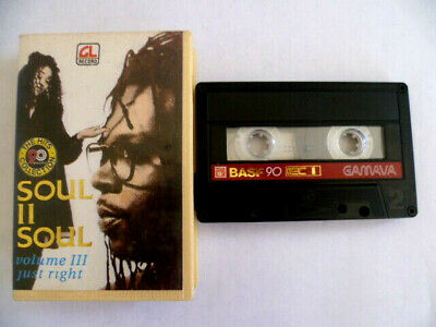 RARE Soul II Soul Unofficial Indonesia Import Cassette Golden Lion G-7396 Tested