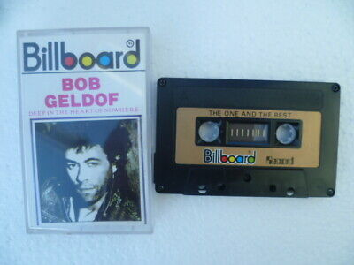 Rare Bob Geldof Deep In The Heart Unofficial Indonesia Import Billboard Cassette