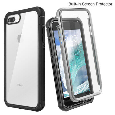 Clear Heavy Duty Case Shockproof Waterproof Dirtproof Cover F iPhone 6s 7 8 Plus