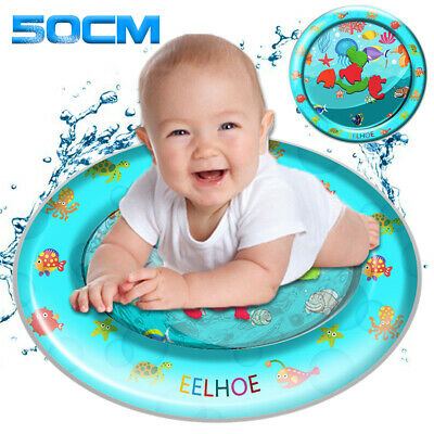 Organism Inflatable Water Play Mat For Baby Infant Toddlers Mattress Splash Fun