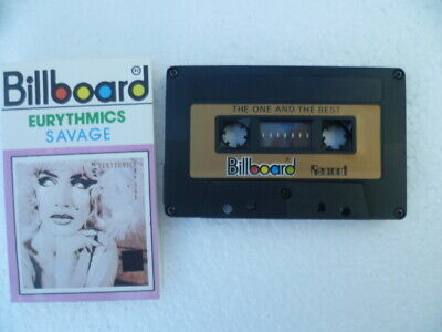 Rare Eurythmics Savage Unofficial Indonesia Import Billboard Label Cassette 1703