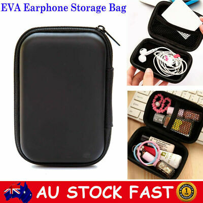 EVA Earphone Earbud Headset Storage Case Bag Hard Carrying Pouch For Airpods SD