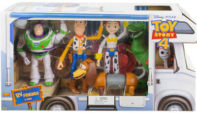 Disney Pixar Toy Story RV Friends 6pk Figures Kid Toy Gift