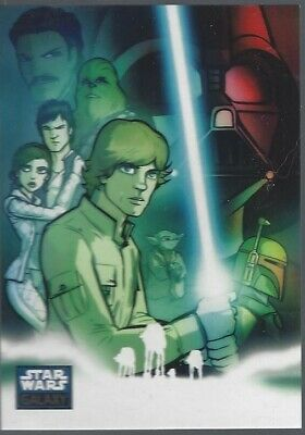 RISE OF THE BOUNTY HUNTERS 2010 !! FOIL CARD/'S STAR WARS CLONE WARS