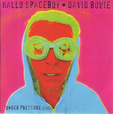 ★☆★ CD Single David BOWIE Hallo spaceboy CARD SLEEVE 2-track  ★☆★