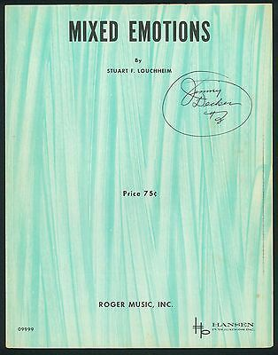 Mixed Emotions - Stuart F. Loucheim - 1951 - Slow - Orig. Musiknote