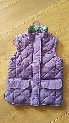 Joules Girls Body Warmer Age 5 Years