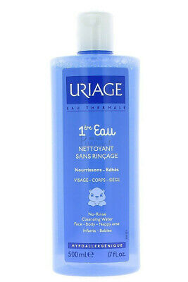 Uriage No-Rinse Cleansing Water for Babies, 500 ml (Expiry 08/19)