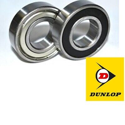 Dunlop Steel Rs And Zz Bearings From 603-2Rs & 603-2Z To 609-2Rs & 609-2Z