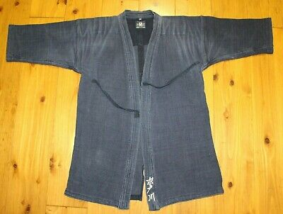 Japanese Kendo Aikido Jacket Wear Nave Blue New 3size Boxing, Martial Arts & Mma