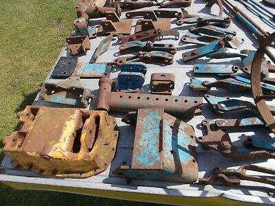 Various Spare parts for 1970's + 1980's Ford + Massey Tractors stored out Digger