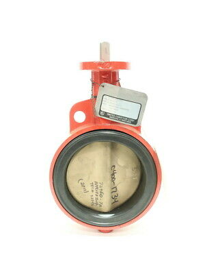 Bray Series 30 Iron 150 Wafer 6in Butterfly Valve