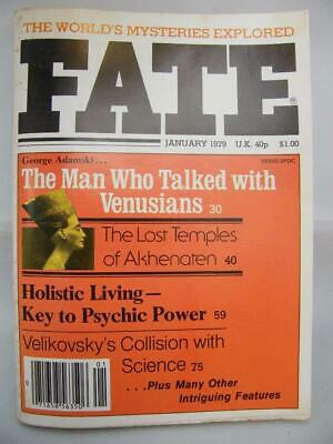 Fate Magazine - January 1979 - UFO Ghosts Paranormal Digest