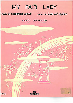 My Fair Lady - Frederick Loewe - Piano Selection - 1956 - Songbook