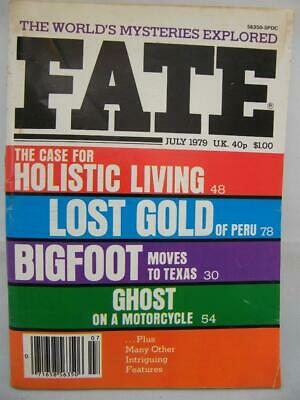 Fate Magazine - July 1979 - UFO Ghosts Paranormal Digest