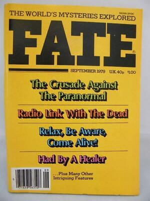 Fate Magazine - September 1979 - UFO Ghosts Paranormal Digest