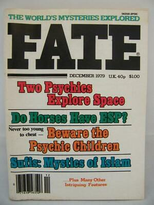 Fate Magazine - December 1979 - UFO Ghosts Paranormal Digest