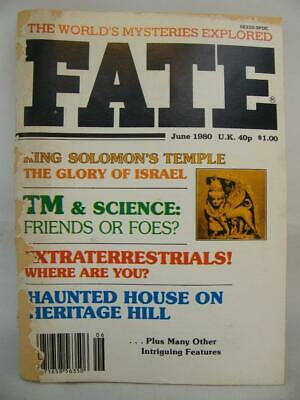 Fate Magazine - June 1980 - UFO Ghosts Paranormal Digest