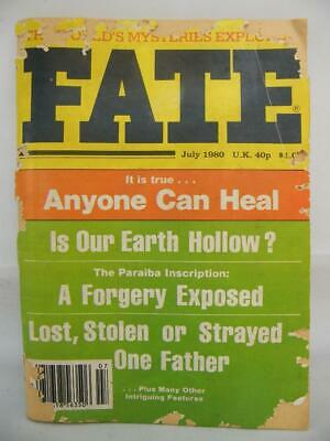 Fate Magazine - July 1980 - UFO Ghosts Paranormal Digest