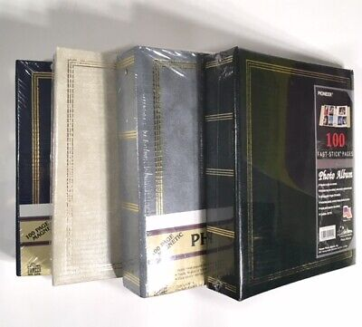 NEW SEALED Pioneer Magnetic Photo Album 100 page 3 ring Binder