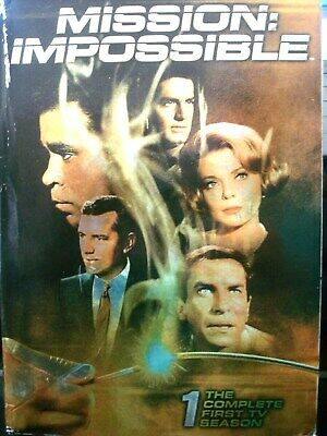 Mission: Impossible - The Complete First Season (DVD, 2006, 7-Disc Set) WORLD SH