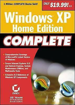 (Good)-Windows XP Home Edition Complete (Paperback)-Sybex-0782129846