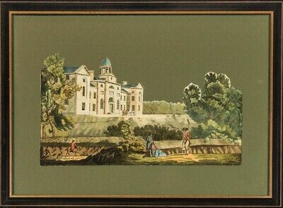 English School Late 19th Century Watercolour - Panoramic Classical Landscape