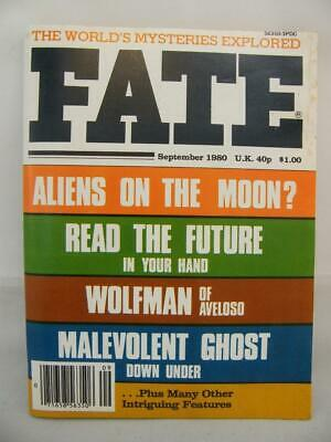 Fate Magazine - September 1980 - UFO Ghosts Paranormal Digest
