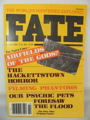 Fate Magazine - October 1980 - UFO Ghosts Paranormal Digest