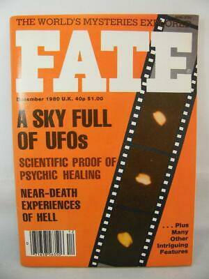 Fate Magazine - December 1980 - UFO Ghosts Paranormal Digest