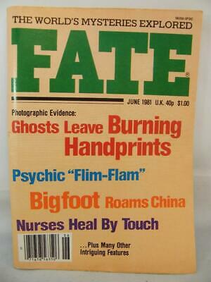 Fate Magazine - June 1981 - UFO Ghosts Paranormal Digest