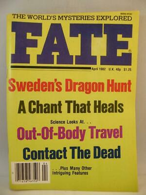 Fate Magazine - April 1982 - UFO Ghosts Paranormal Digest