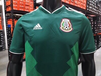 723be84eaf3 Adidas Junior Mexico Home Jersey 2018 Youth (Green White) Size  Youth XL