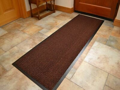 Heavy Duty Non Slip Rubber Barrier Mat Large & Small Back Door Hall And Kitchen