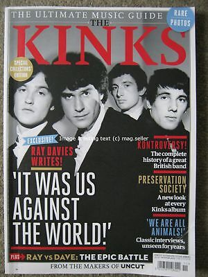 Uncut Ultimate Music Guide Kinks Ray Dave Davies interviews photos album reviews