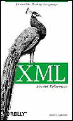 (Good)-XML Pocket Reference: Extensible Markup Language (Paperback)-Robert Eckst