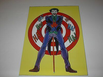 Dc Comics The Joker Villain Poster Pin Up