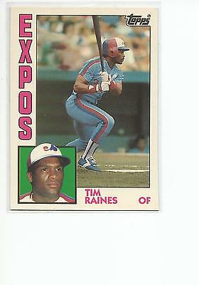 1984 Topps Tiffany Baseball Pick A Card Cards 1 200 179