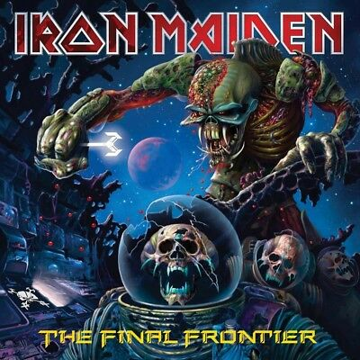 IRON MAIDEN The Final Frontier 2LP Vinyl NEW 2017