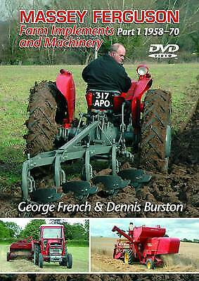 Massey Ferguson Implements and Machinery: 1958-1970 Part 1, George French