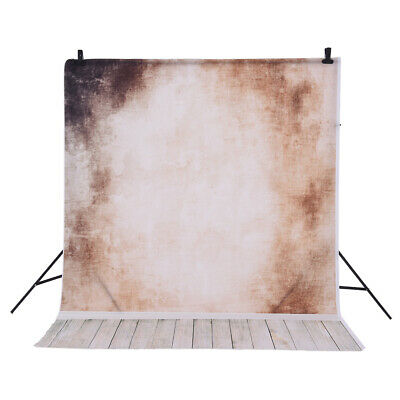 Andoer 1.5 * 2m Photography Backdrop Wall Wooden Floor Pattern for Studio R4S5