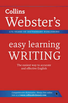 Collins Webster's Easy Learning: Collins Webster's easy learning writing by
