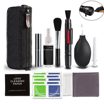 USA Professional Camera Cleaning Set for DSLR Cameras Canon Nikon Pentax Sony