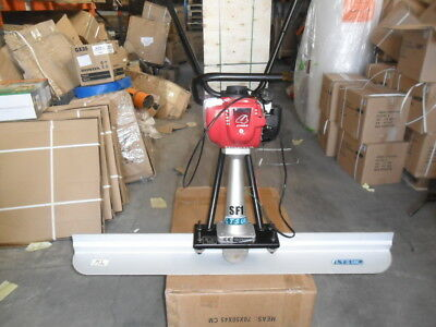 HONDA SURFACE FINISHING SCREED EASY SCREED CONCRETE SCREED  + 6 ft blade +10 ft
