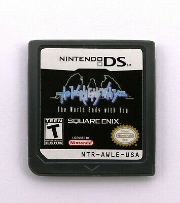 The World Ends with You Nintendo DS Game Card NDS Lite DSi 2DS 3DS XL a F01