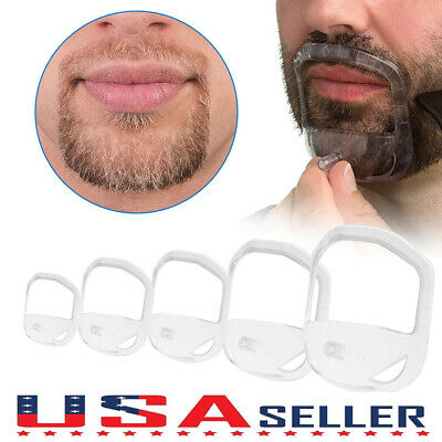 5pcs Beard Styling Tools For Men Fashion Goatee Shaping Template