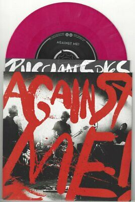 """Against Me! """"Russian Spies"""" 7"""" /496 Gaslight Anthem Hot Water Music Rise NOFX"""