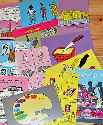 Grayson Perry ART Postcards lot 1 new